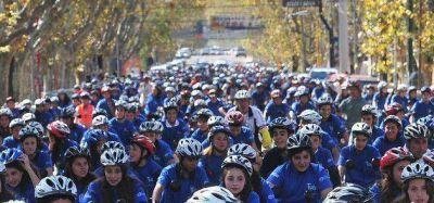 TuBi: Mega bicicleteada luego de la entrega de casi mil bicis
