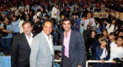 Scioli visitó Salta y respaldó la candidatura de Urtubey