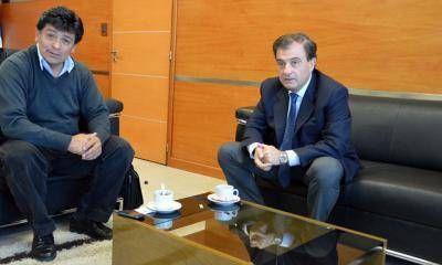 """Giménez ratificó alineamiento con Weretilneck porque """"siempre estuvo a nuestro lado"""""""