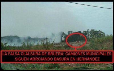 """Sigue la quema de basura: ONG ambientalista exige """"urgente"""" saneamiento"""