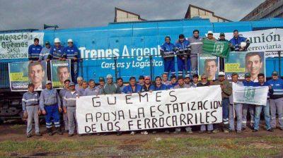 Durand Cornejo ausente en Diputados, donde se aprobó la reestatización ferroviaria