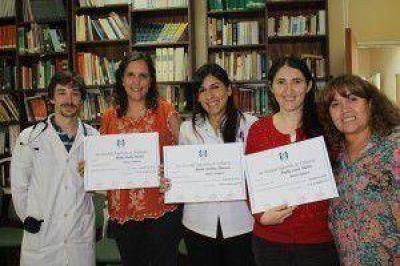 Profesionales fueguinos recibieron certificación de la Sociedad Argentina de Pediatría