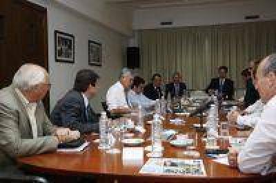 De Vido recibió a 13 intendentes de la sexta sección de la provincia de Buenos Aires