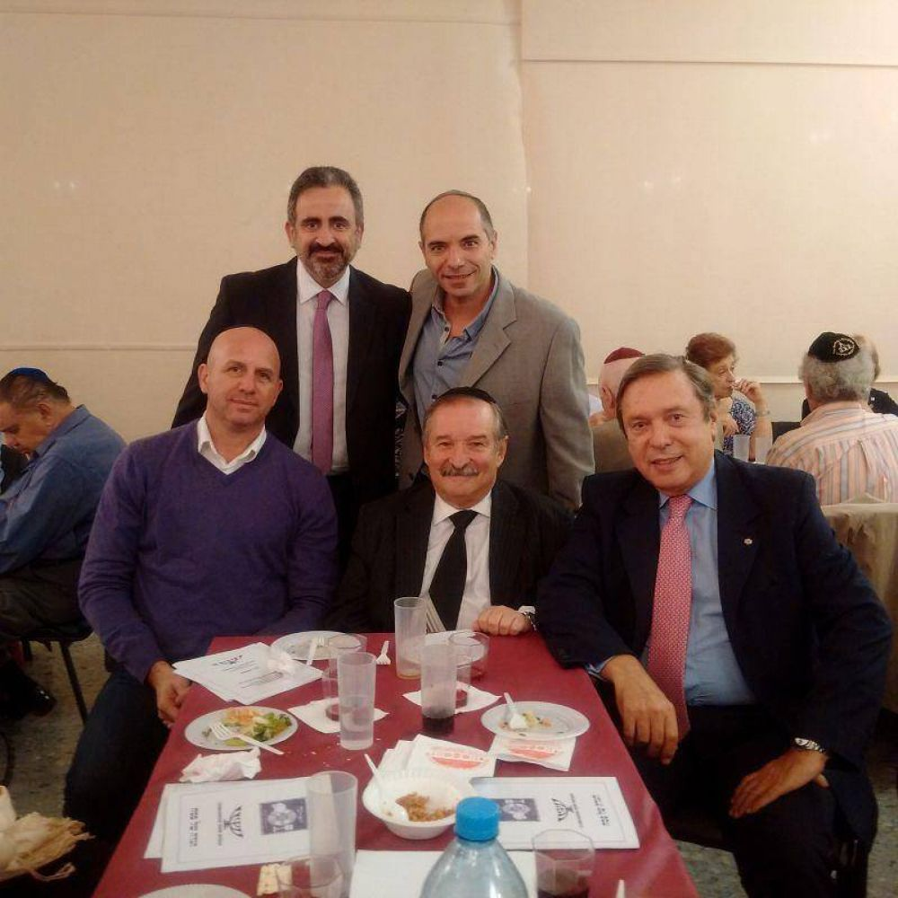 Seder de Pesaj en Bene Mizrah