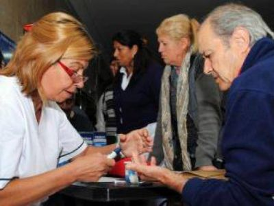 Más de 200 personas se controlaron en el hospital Alende por el Día Mundial de la Salud