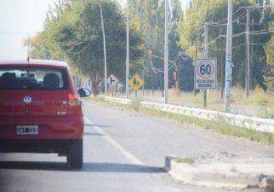 Plottier: aplican fotomultas por exceso de velocidad