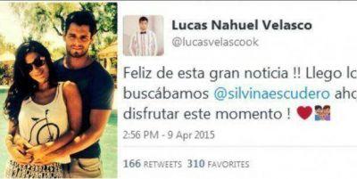 ¿Silvina Escudero está embarazada? El llamativo tuit de Lucas Velasco