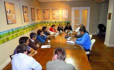 Concejales se reunieron con representantes del agro