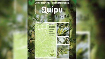El Colegio de Graduados en Ciencias Forestales presentan revista institucional