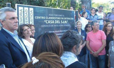 Señalizaron un centro clandestino de detención de la última dictadura en San Isidro