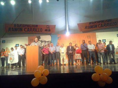 Gran respaldo de Héctor Lanza a la candidatura presidencial de Scioli