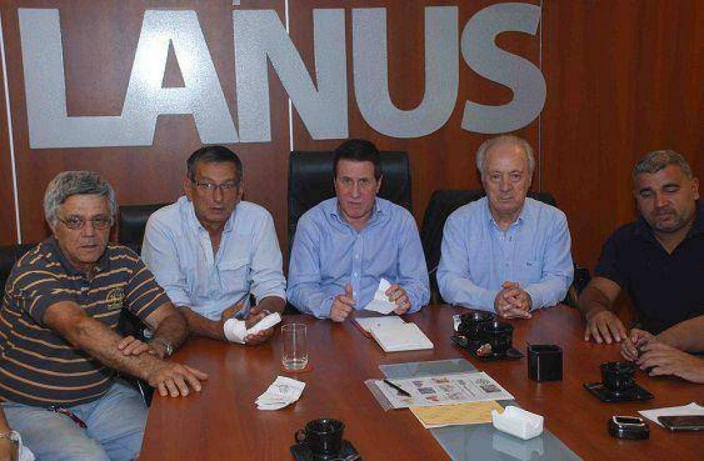 La CGT regional Avellaneda - Lanús junto al intendente Darío Díaz Pérez