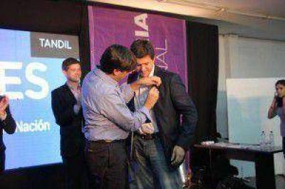 De nuevo en Tandil, Diego Bossio fue cauto con sus competidores del FPV y criticó a la oposición