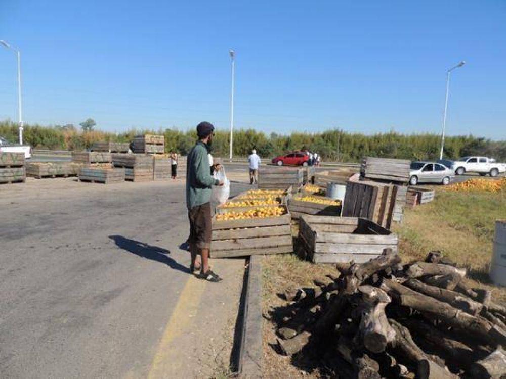 Aseguran que se endurecerán las protestas en el sector citrícola