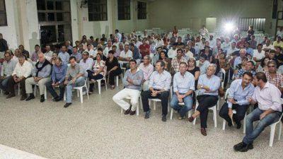El comunicado oficial y el acta que firmaron los candidatos en Tabossi