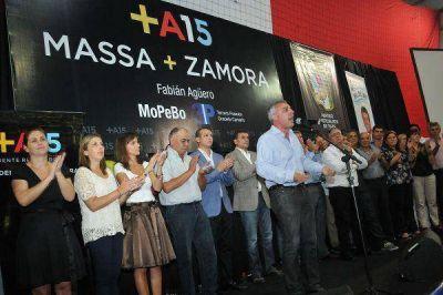 El Frente Renovador colmó el Club Glorias de Tigre en apoyo a Sergio Massa