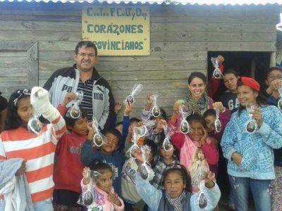 La Juventud Radical y Corazones Provincianos festejaron las Pascuas