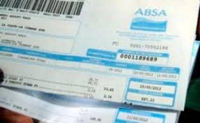 Otra ineficiencia de ABSA... Ahora deberá devolver el aumento de 180% que rige desde el 2012