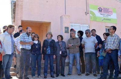 Eseverri encabezó el acto de imposición del nombre de Néstor Laffitte al Centro de Atención Primaria de Salud Nº 8