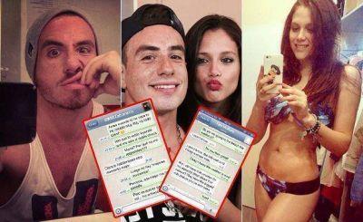 El chat secreto de Fede Bal y Barbie Vélez: mirá qué están tramando en WhatsApp