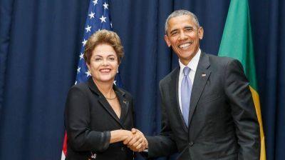 Tras reunirse con Obama, Rousseff viajará a los Estados Unidos el próximo 30 de junio
