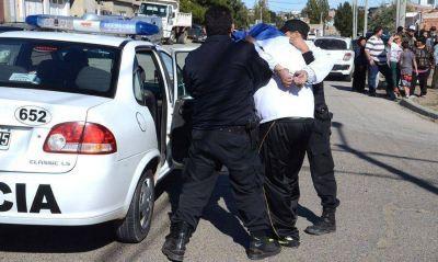 A 8 detenidos les dio positivo el test de parafina