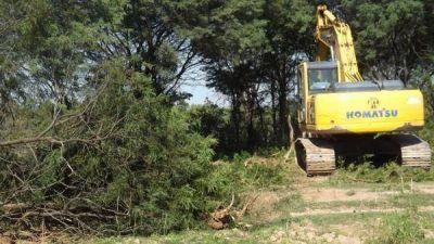 El desborde del Bermejo tiene en vilo a pobladores ante el precario trabajo municipal
