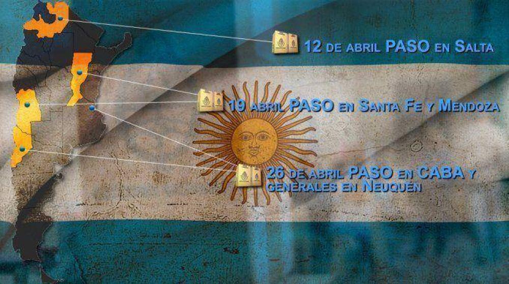 Tras las PASO de Salta, el próximo domingo habrá primarias en Santa Fe y Mendoza
