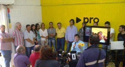 Pablo Delía lanzó oficialmente su precandidatura a Intendente y presentó a su equipo de trabajo