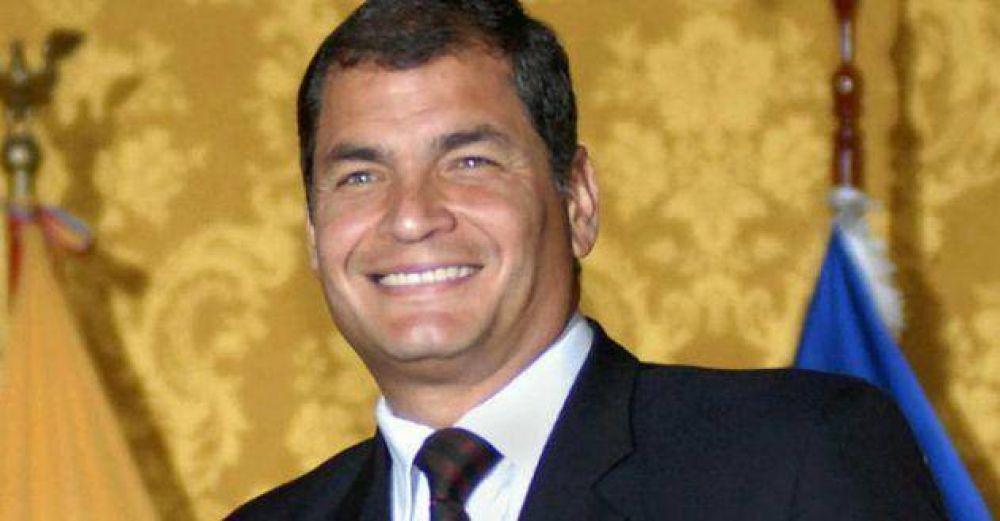 Ecuador: El presidente Correa respondió