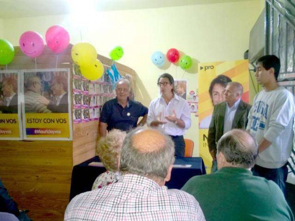Nunzio inauguró local en Bernal