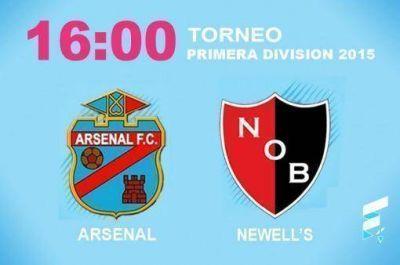 Arsenal afronta una prueba de fuego ante Newell's Old Boys