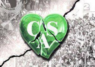 Corazón (verde) partío...