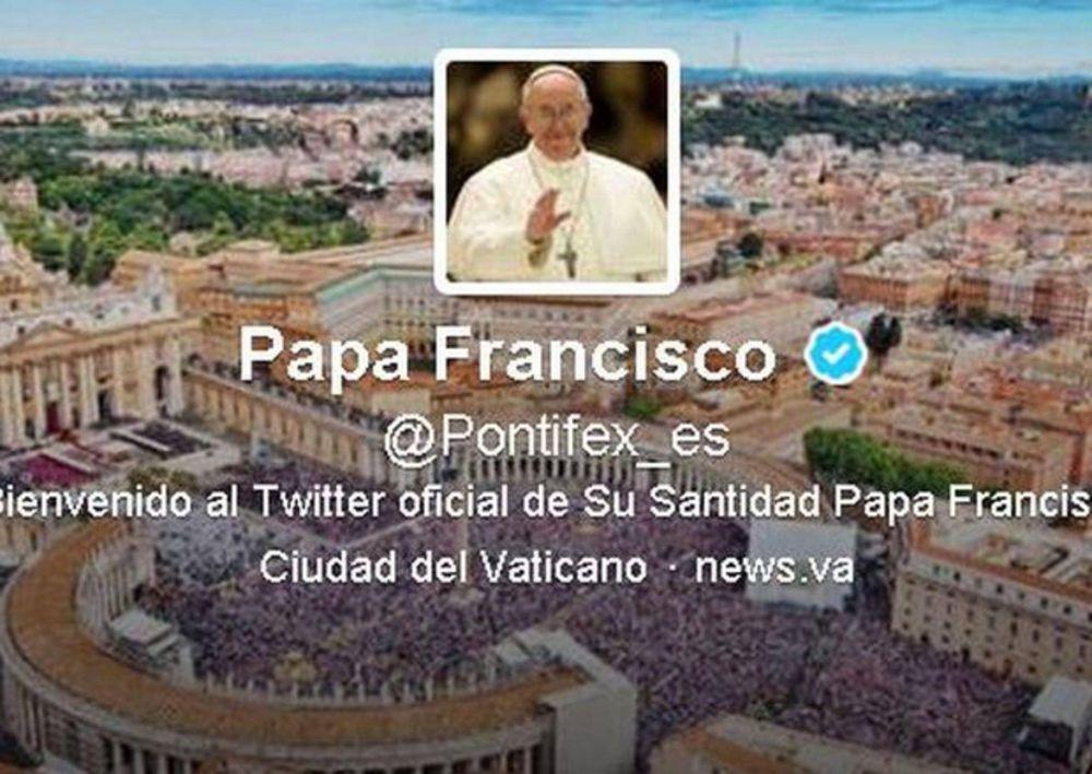 El Papa Francisco supera los veinte millones de seguidores en Twitter