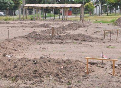 La obra del CIC del barrio Jardín casi no tuvo avances
