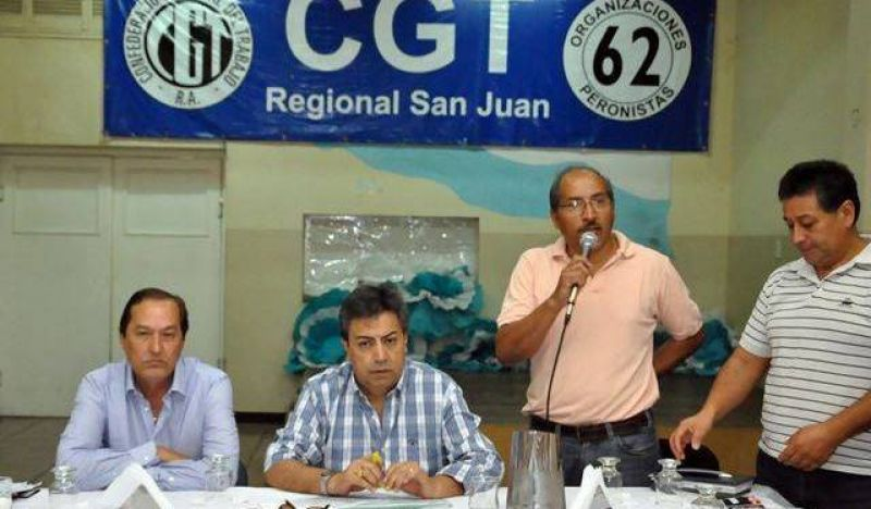 Los gremios ratificaron la continuidad de Cabello al frente de la CGT