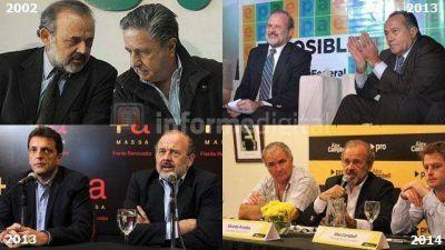 Ex PJ, ex socio de Saa y ex massista llega a Entre Ríos con traje macrista