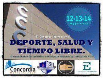 1º CONGRESO INTERNACIONAL DE EDUCACIÓN FÍSICA, SALUD Y TIEMPO LIBRE EN CONCORDIA.