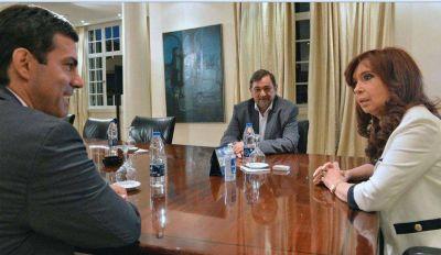Urtubey viajó a Olivos y nacionalizó las elecciones de la provincia