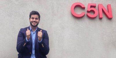 Nicolás Magaldi regresa a C5N: