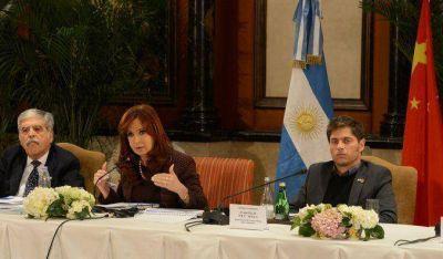 Cristina se reunió en Olivos con Kicillof, Wado de Pedro, Débora Giorgi y De Vido