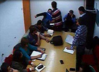 Gobierno dio a conocer m�s registros f�lmicos donde se �evidencia la violencia� de paritarios del SUTEF