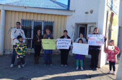 La escuela 7 tambi�n sufre la desidia del Gobierno de R�os