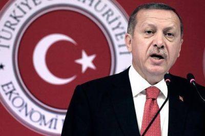 El presidente de Turquía expresó su