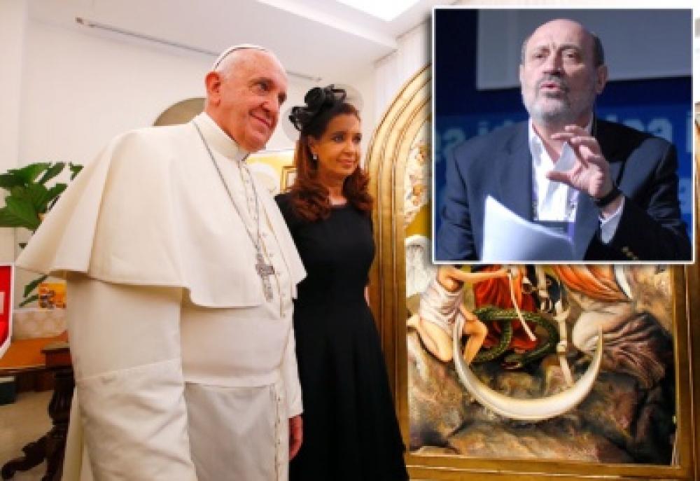 """De Francisco a Alfredo Leuco: """"La mansedumbre no es pusilanimidad"""
