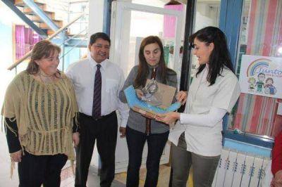 Donaron equipo para los servicios de Otorrinolaringología y Fonoaudiología del Hospital