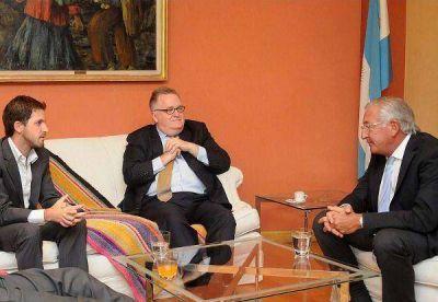 Fellner evaluó con el CEO de Oocobre la marcha del proyecto de Sales de Jujuy