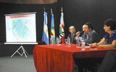 Díaz Pérez presentó el sistema de información Geosiuc Lanús