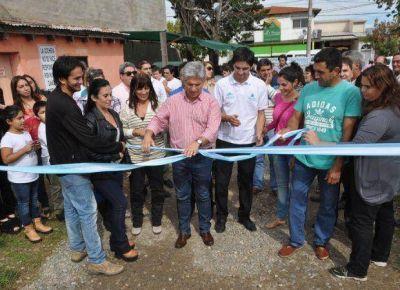 Merlo: inauguraron once Nuevas Empresas de Jóvenes Sanluiseños