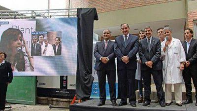 Cristina inaugur� un laboratorio de biotecnolog�a en Tucum�n